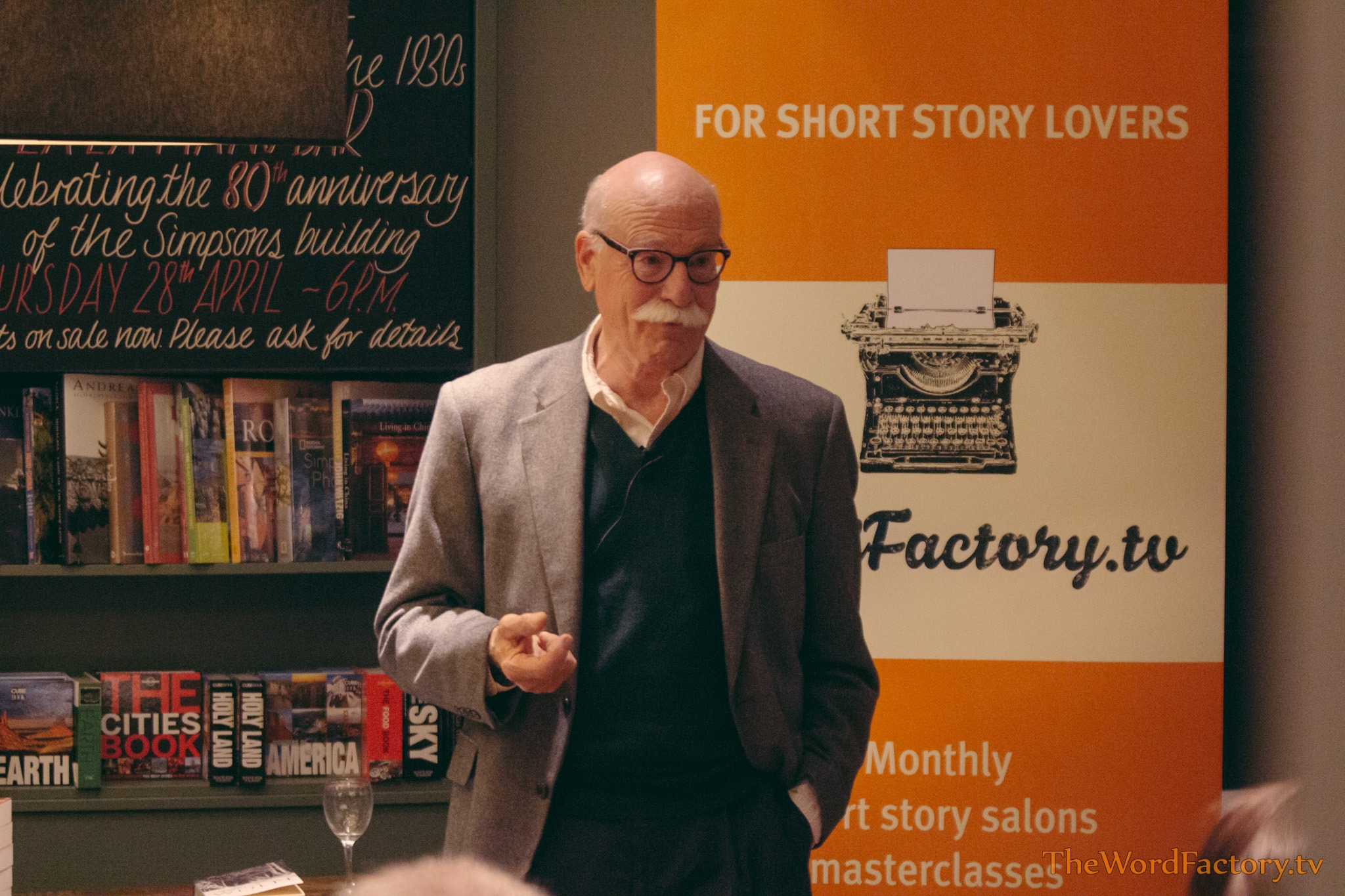 Tobias Wolff Word Factory
