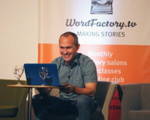 David Vann - – A conversation at the Word Factory