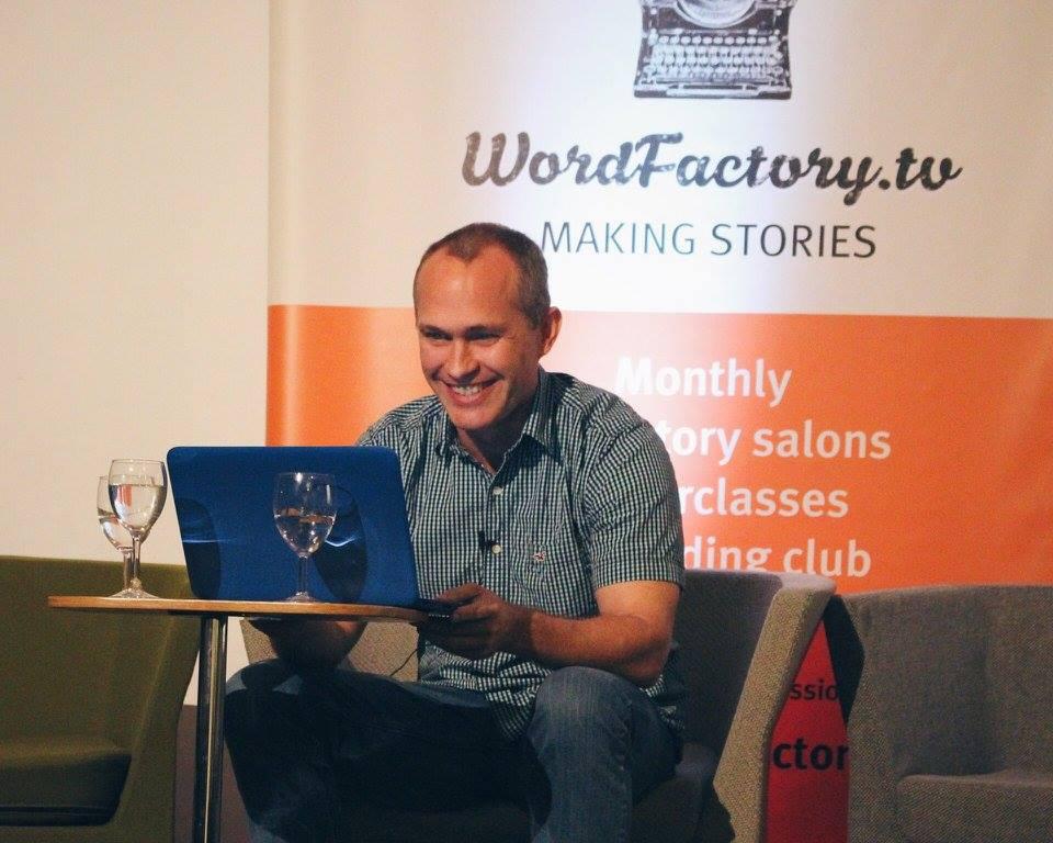 David Vann - – A conversation at the Word Factory